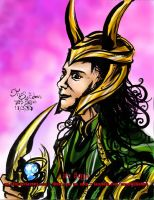 Loki of Asgard by sw-eden