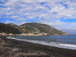 Canneto beach - Lipari by floramelitensis