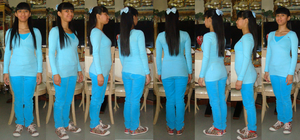 Me in my light blue attire outfit at May 5, 2014 by Magic-Kristina-KW