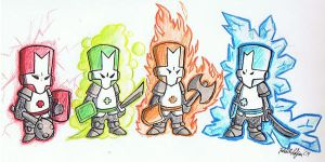 castle crashers by Johnnymac25