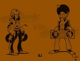 Artist vs Artist: DJ by WarBrown