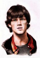 Actual Moose Sam Winchester by SilkSpectreII