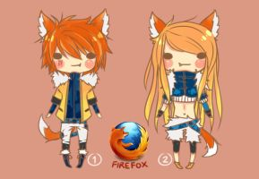 [ADOPTABLE : CLOSED] Firefox - Auction by cakeskin