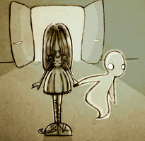 The Girl and the Ghost by MsChievous24