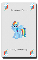 Rainbow Dash Card by pims1978