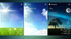 Realistic Weather HD 2 4x4 for xwidget by jimking