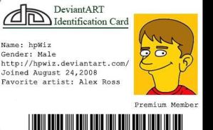 ID card by hpWiz