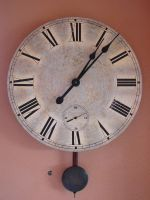 Old Wall Clock by FantasyStock