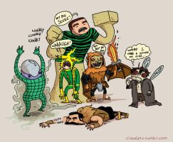 The Sinister Six by claudetc