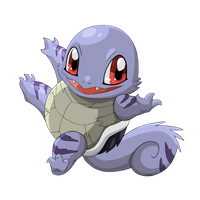 Ghost Squirtle by MeoWmatsu