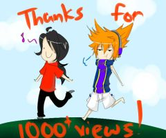 Eeeer....over 1000 Views by now...xDDD by milakumo