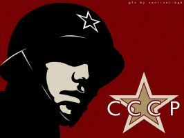 CCCP Soldier by troy-mcclure
