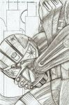 Night Thrasher Pencils by CliffEngland