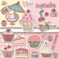 Cupcakes-1 by supernovanastasia