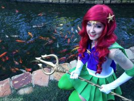 Sailor Ariel Cosplay by glitzygeekgirl