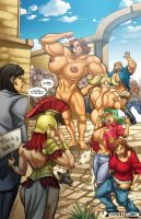 Tourists in Themiscyra by muscle-fan-comics