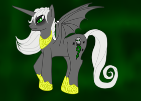 Voldemort Pony G4 Style by DracosDerpyHoof