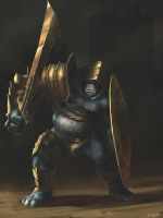 Dungeon Troll Kings Guard by Gaius31duke