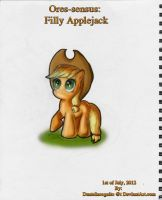 MLP:FiM - Digital - Ores-sensus - Filly Applejack by DanteIncognito