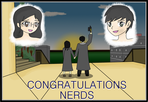 Congrats Nerds by Banquo0