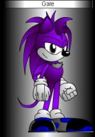 Gale the hedgehog by StormRaven333