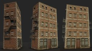 Apartment Building by EmanShaw