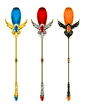 Wizard 101 Winged Jewel Staff by an81angel