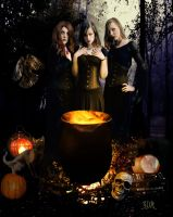 Witches Three by SweetDA
