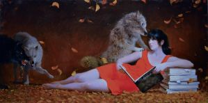 The Storybook Wolf by MyFantasie