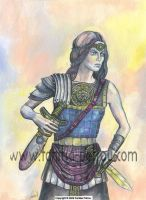Warrior Princess I by fanitsafantasy