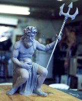 Neptune sculpt by ArtNomad