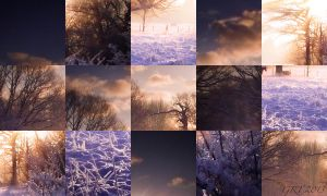 Winter Sunset Comp. by glolinde