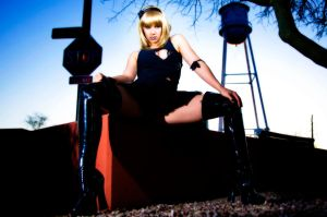 Alayna in goth by JJImages