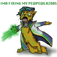 IMA FIRING MY PEWPEWLAZORS by Frostpebble