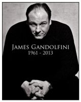 James Gandolfini by scottb1977