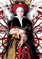 Tim Burton's Red Queen 1 by cartoonloon77