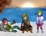 Golden Sun DD Scared yooou by Rindiny