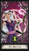 Ben 10 Tarot- 1. The Magician by CheshireP