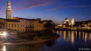 Adige at night by Runfox