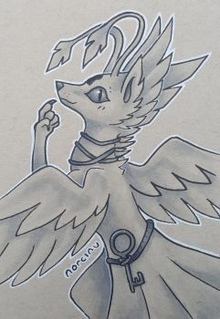 KeyFeathers by Norcinu