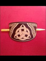 CELTIC HAIR PIN by dionesambrozius