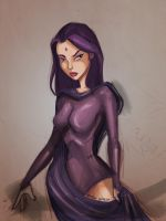Raven (WIP) by illustrationrookie