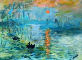 Free copy of C. Monet painting by Alekra81