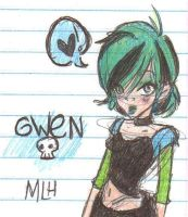 And, surprise-surprise, GWEN. by MissShell666