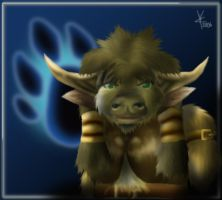 Feral - World of Warcraft by brackenhawk