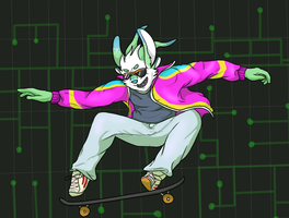 SURFING THRU CYBERSPACE by kangaloon
