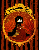 The Bookworm Lady by CottonValent