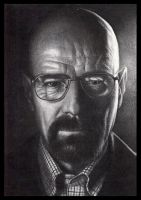 Walter White Breaking Bad by FredrikEriksson1