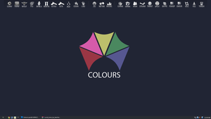Colours desktop - October by MindWav3