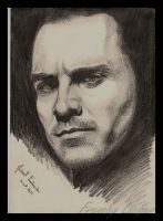 Michael Fassbender by HLea33